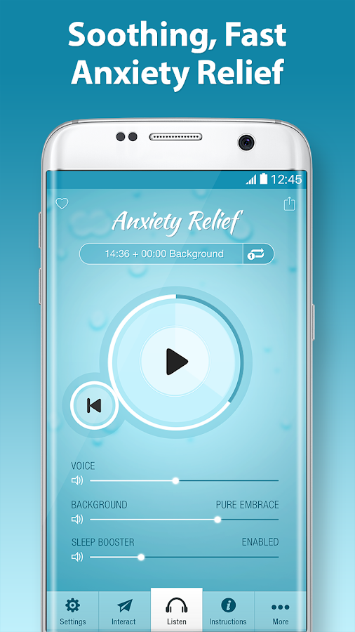 End Anxiety Hypnosis - Stress, Panic Attack Help- screenshot