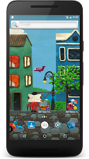 Town Live Wallpaper Free- screenshot thumbnail