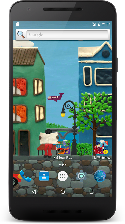 Town Live Wallpaper Free- screenshot