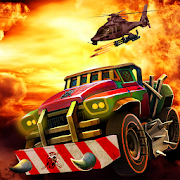 Crazy Death Car Race Shooting Games