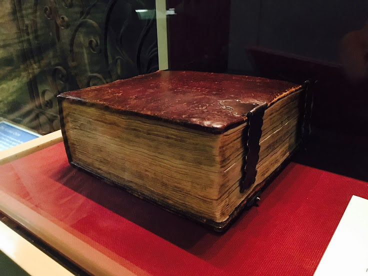 George Washington's inauguration Bible.