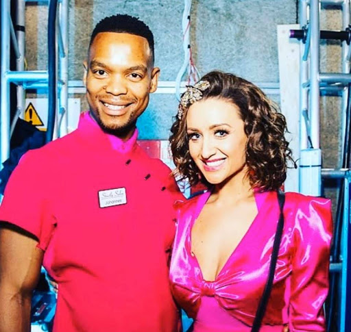 Dancer Johannes Radebe's dream comes true on Strictly Come Dancing UK