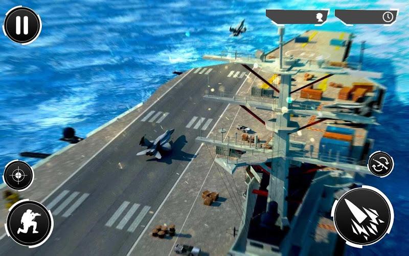 Navy Gunner Shoot War 3D Screenshot 2