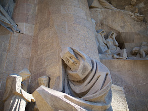 Photo: And finally, we braved the fear of the crowds and bought ourselves some tickets to visit the inside of the Sagrada Familia. We never should have waited so long.