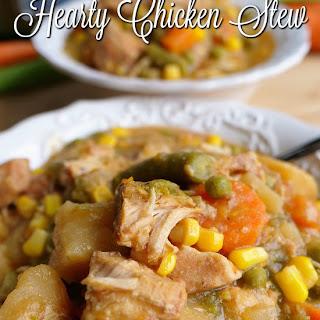 Crock Pot Hearty Chicken Stew Recipe