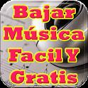 Bajar Musica Facil y Gratis Tutorial icon