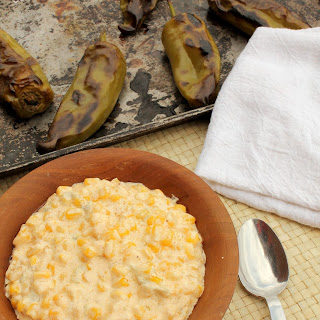 Creamed Corn with Roasted Hatch Chiles