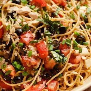 Potluck Spaghetti Tuna Salad.