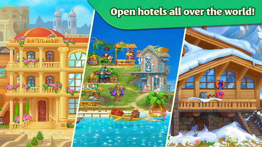 Grand Hotel Mania MOD APK 1.7.1.9 [Unlimited Coins, Gems] 7