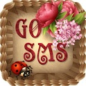 GOSMS PRO THEME VINTAGE FLOWER icon