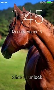 Horses Lock Screen - náhled