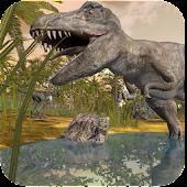 Dinosaur Destroy The City
