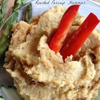Roasted Parsnip Hummus