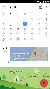 Google Naptár- screenshot thumbnail