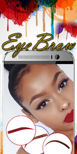 Eyebrow Shaping App - Beauty Makeup Photo  screenshots 7