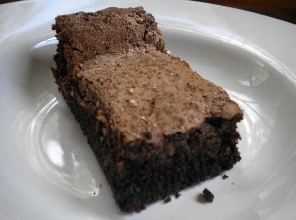 Dark Chocolate Gooey Butter Cake Recipe