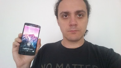 Photo: One of our recent Nexus 5 giveaway winners Enache from Romania showing off his new phone.  Tune in every Sunday for the #SUNDAYGIVEAWAY  where we give away a new device every week!