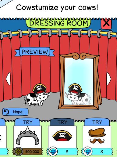 Cow Evolution - Crazy Cow Making Clicker Game screenshot 9