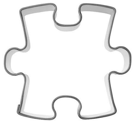 Kakform - Pusselbit, 5 cm