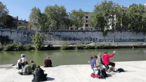 stage CARNET DE VOYAGE _ aquarelle  avec JEANNE PAPA_Rome 2019_ travaux des éléves_ Fontainebleau_ Seine et Marne