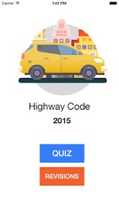 Highway Code 2016 screenshot 0
