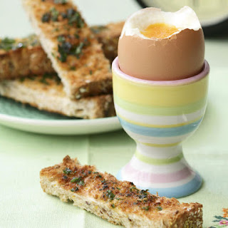 Soft-Boiled Eggs with Herb Toast