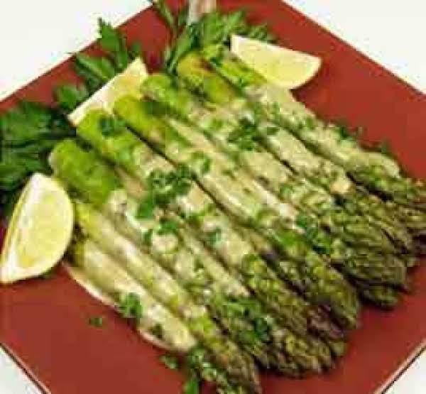 Asparagus With Dijon Sauce