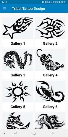 Simple Tribal Tattoo Design Ideas For Menのおすすめ画像1