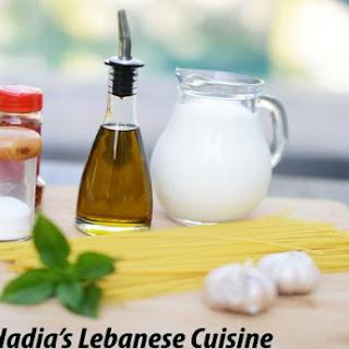 Lebanese Style Spaghetti with Yogurt.