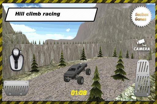 RC怪物汽车爬坡