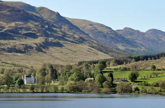 Photo: Edinample Castle and Stuch A Chroin from Briar Cottages, Lochearnhead