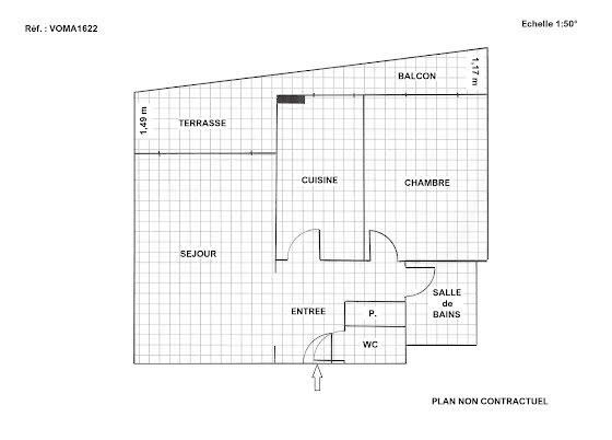 Vente viager 2 pièces 50 m2