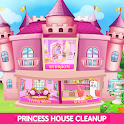 Princess House Cleanup For Girls: Keep Home Clean icon