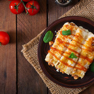 Slow-cooker Beef Enchiladas.