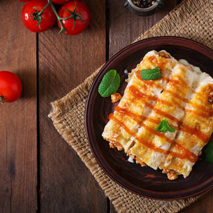Slow-cooker Beef Enchiladas