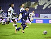Anouar Ait El Hadj (Anderlecht) maakte indruk tegen Charleroi