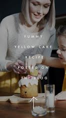 Yummy Yellow Cake - Facebook Story item