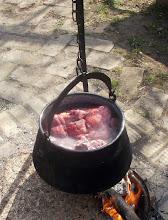 Photo: Wstępne gotowanie płucek i serc wieprzowych (04)