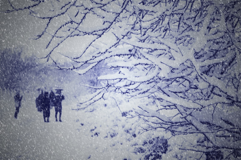Snow over Rome di daniel_prince