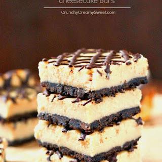 Peanut Butter Chocolate Cheesecake Bars