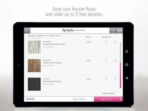 Style My Floor- screenshot