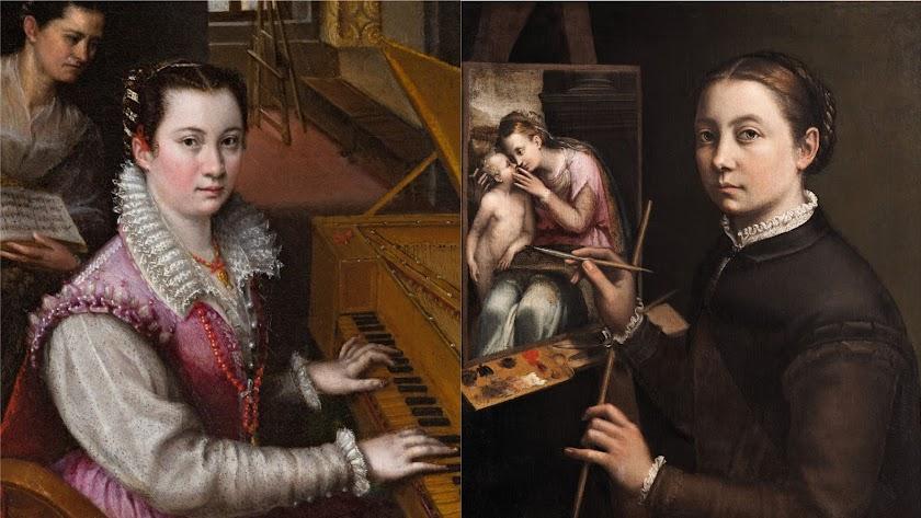 El Prado presenta 'Sofonisba Anguissola y Lavinia Fontana. Historia de dos pintoras'.