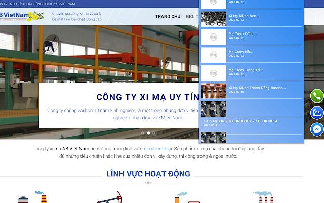 Công Ty Xi Mạ AB Việt Nam
