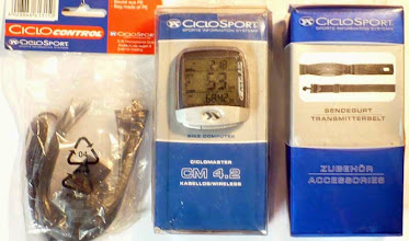 Photo: bevielis ciclomaster 4,2, spidometras, pulsometras, laidinis kadensas