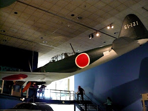 Photo: Imperial Japanese Navy Air Service Mitsubishi A6M Zero.  Such planes were used in the attack on Pearl Harbor. http://en.wikipedia.org/wiki/Mitsubishi_A6M_Zero