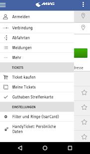 MVG Fahrinfo München- screenshot thumbnail