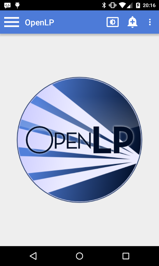 OpenLP - Remote 2.0- screenshot
