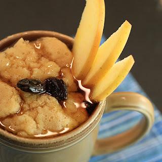Sunny Anderson's Apple Dutch Baby Mug Pancake