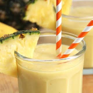 Pineapple Mango Banana Smoothie.
