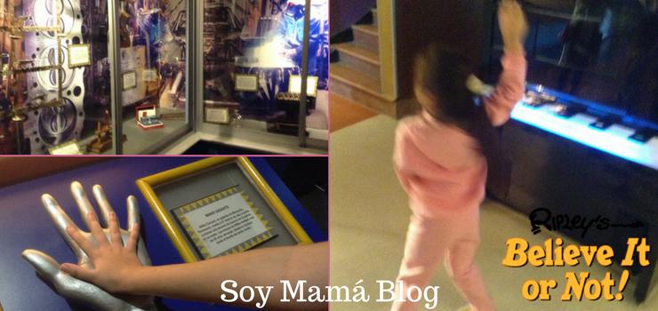 Museo de Ripley en Veracruz con niños: Varias + Maia bailando